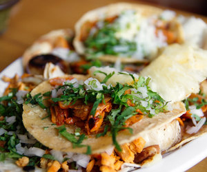 food, recipe, and tacos image