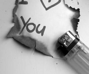 fire, I Love You, and love quotes image