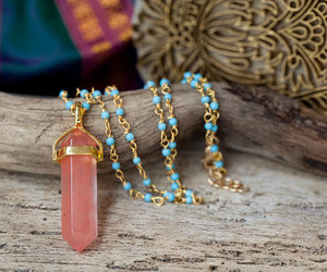 handmade jewelry, necklace, and summer fashion image