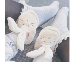 baby, beach, and bunny image