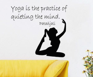 wall decals and yoga decal image