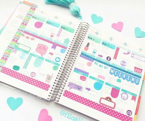 agenda, planner, and planeador image