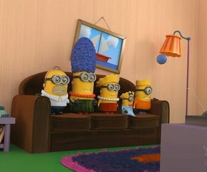 minions and simpsons image