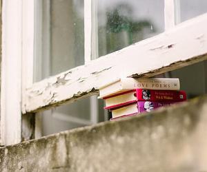 books and window image