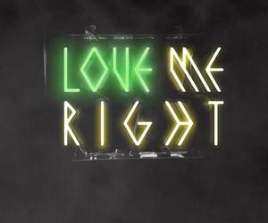 exo, love me right, and baekhyun image