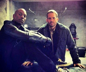 tyrese, fastandfurious, and paulwalker image
