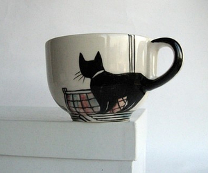 cat, cup, and mug image