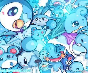 pokemon, anime, and blue image