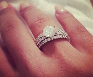 diamond, girl, and hand image
