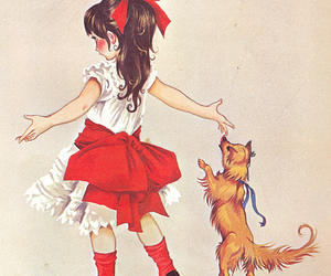 bow, children, and puppy image
