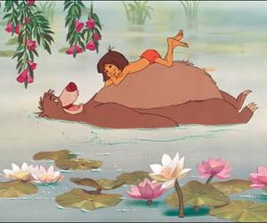 disney, the jungle book, and mowgli image