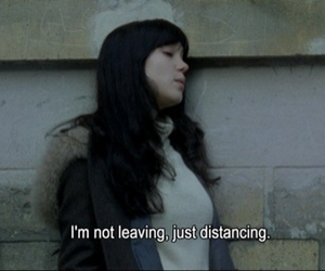 distance, quotes, and leaving image