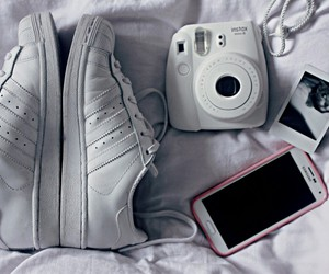 adidas, instax, and phone image