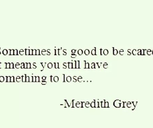 quote, true, and grey's anatomy image