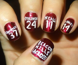 teen wolf and nails image