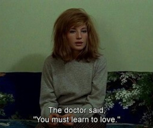 love, quote, and doctor image