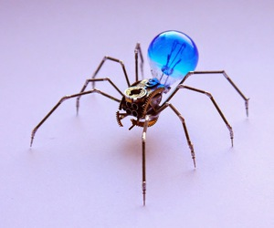 electronic, spider, and electronic spider image