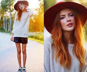 fashion, model, and ebba zingmark image
