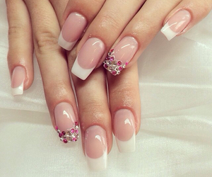 jewels, pretty, and french manicure image