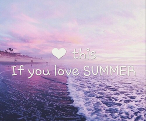 summer and heart image