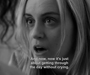 crying, depression, and sad image