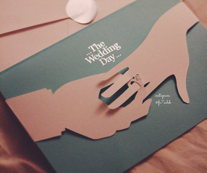 wedding, romantic, and cute image