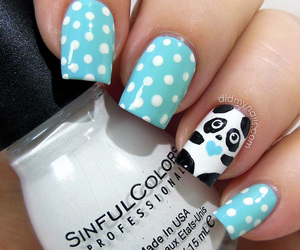 nails and panda image