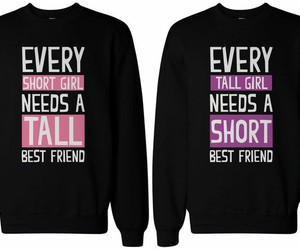 bff, short, and tall image