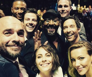 arrow, the flash, and willa holland image