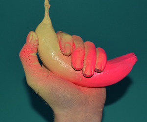 acid, art, and banana image