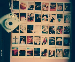 camera, polaroid, and retro image
