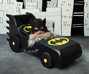 baby and batman image