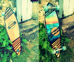 longboard, maple, and perfection image