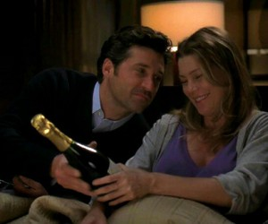 couple, ellen pompeo, and lovely image