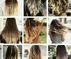 moda, Mechas, and californianas image