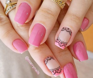 nails, vernis, and swag image