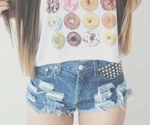 fashion, donuts, and outfit image