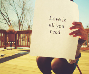 all, need, and text image