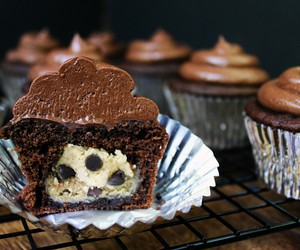 buttercream, cookie dough, and chocolate image