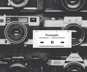 camera, music, and photograph image