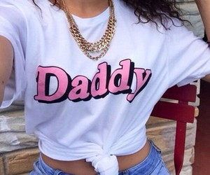 daddy, girl, and fashion image