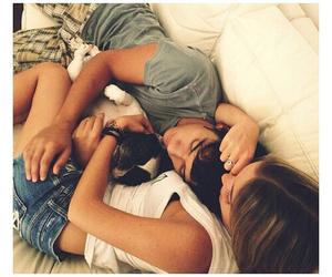 boyfriend, hug, and nap image