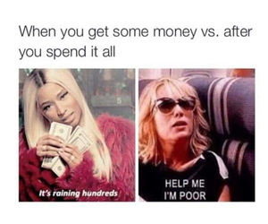 funny, money, and lol image