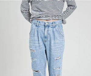 jeans, grunge, and outfit image