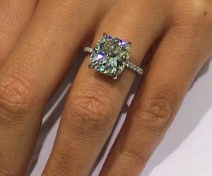 diamond, ring, and girl image