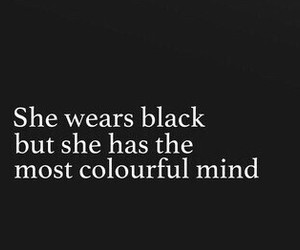 quote and black image