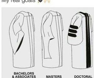 college, degree, and doctor image