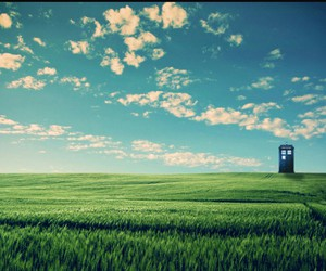 background, blue, and doctor who image