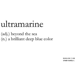 words, blue, and sea image