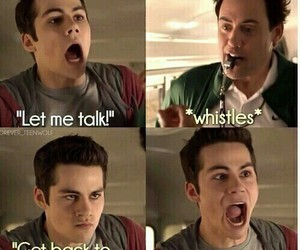 teen wolf, coach, and stiles stilinski image
